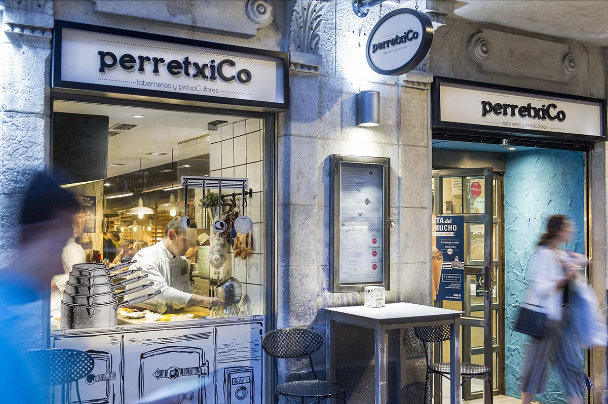 perretxiCo taberna especializada en pintxos Vitoria-Gasteiz