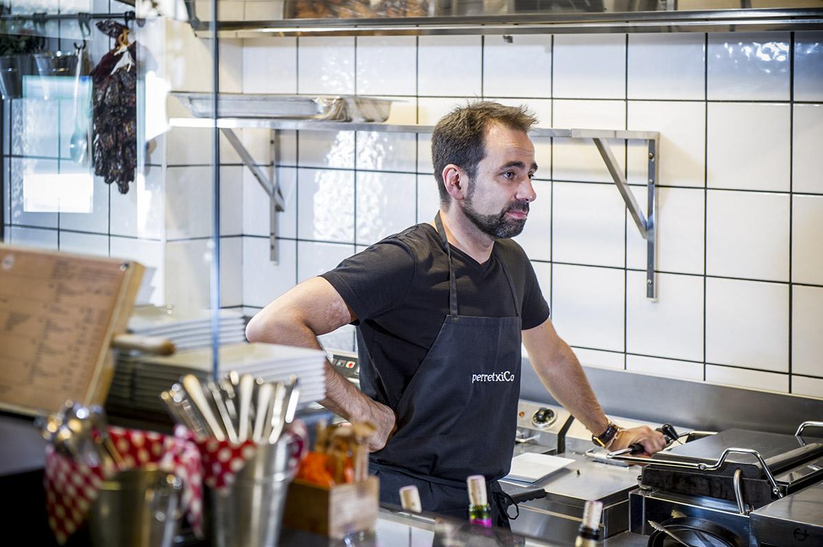 Josean Merino de perretxiCo pintxos y tapas en Vitoria-Gasteiz