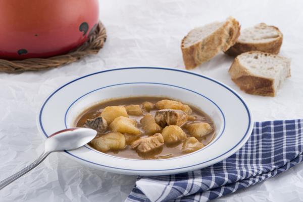 marmitaco perretxico especialidad menu del dia