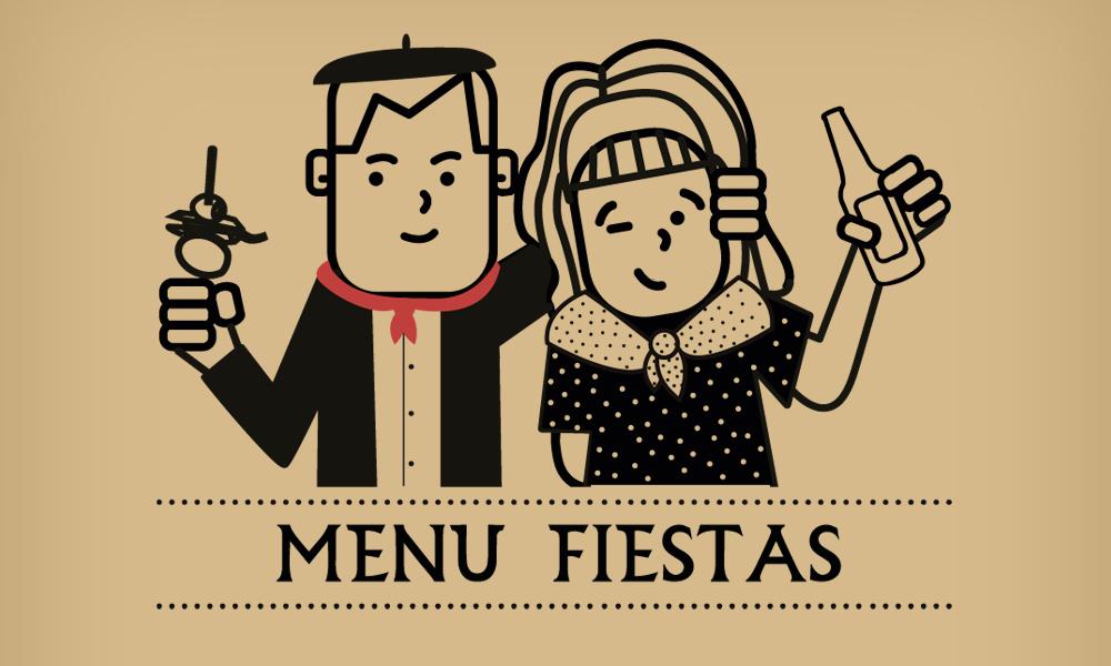 menus fiestas perretxiCo Vitoria