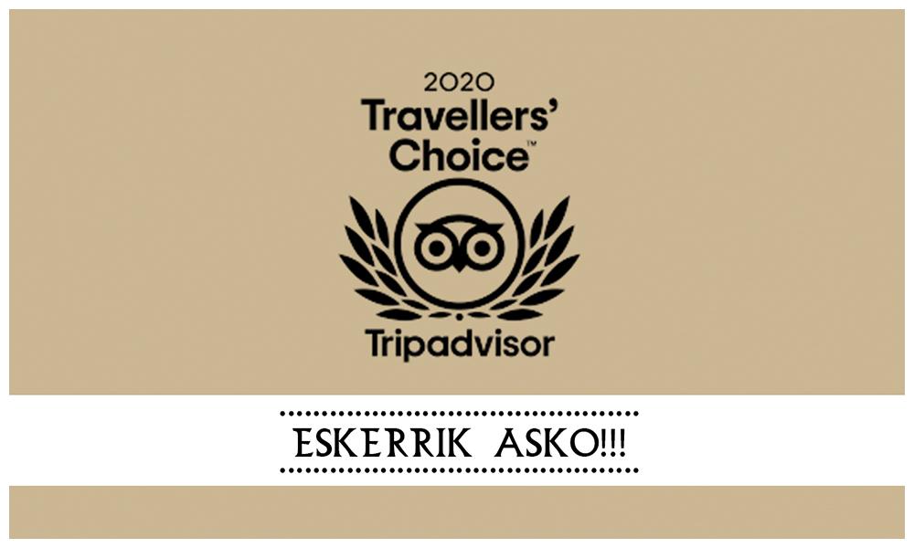 perretxiCo tripadvisor premio travellers choice